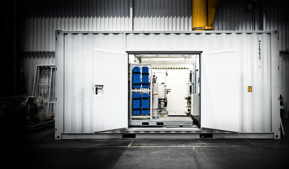 Container-Prüfstand L'Orange